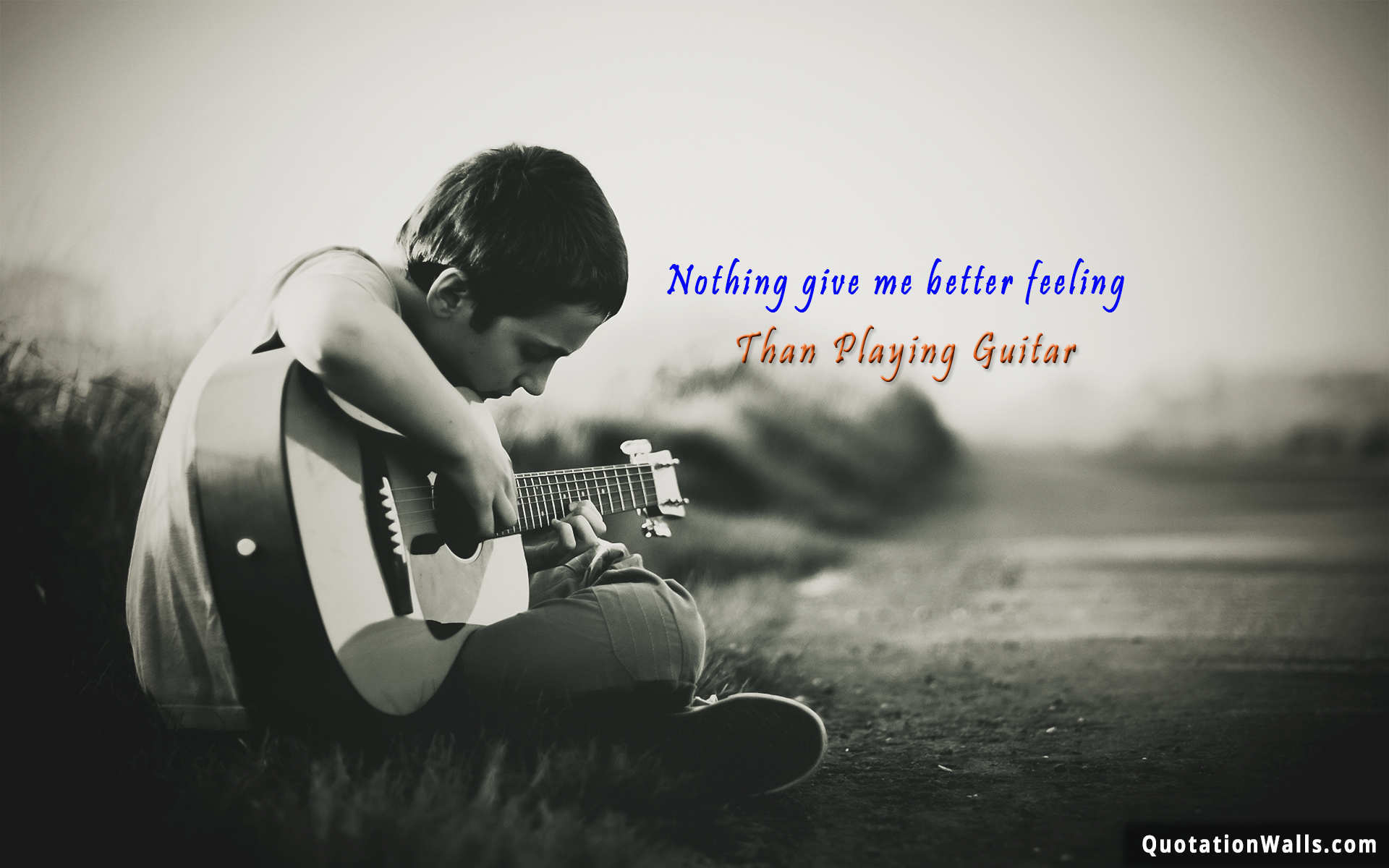 Attitude Love Wallpaper In Hd : Guitar Feeling Life Wallpaper for Mobile - QuotationWalls