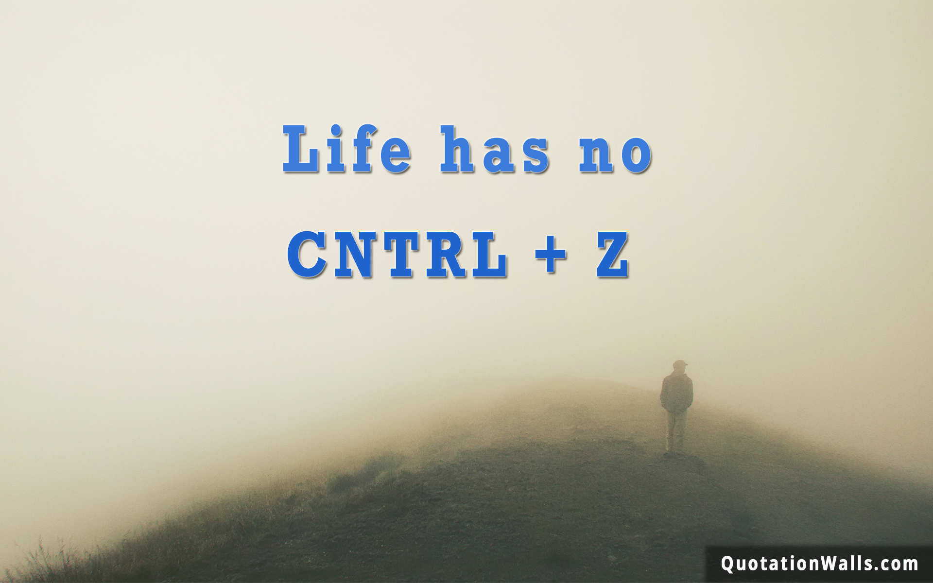 Life Has No Ctrl z Lif...