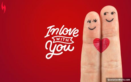 Love quote: In love with you