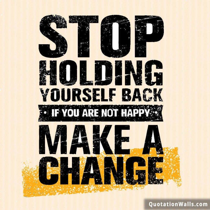 Make A Change Motivational Whatsapp Dp Whatsapp Profile Picture